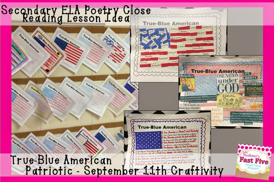 Teaching September 11 with Poetry