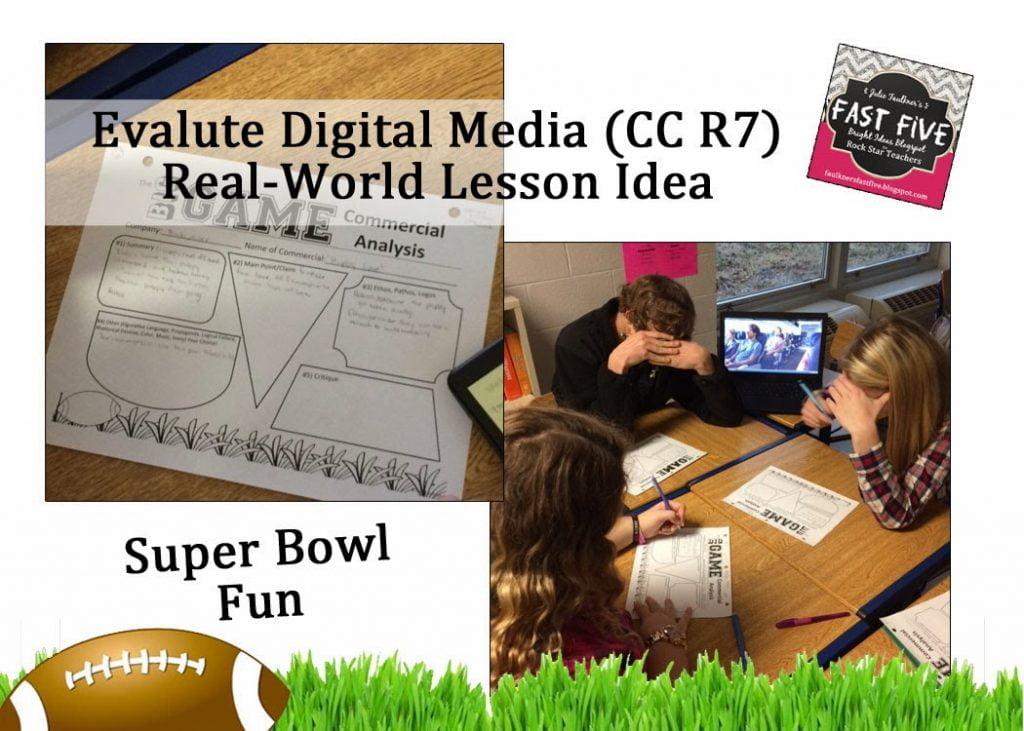Super Bowl Commercials Lesson Plan