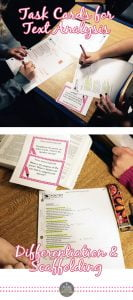 Using Task Cards in Middle and High School