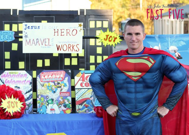 trunk or treat for church with biblical themes