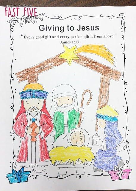 Christmas Bible Unit Preschool