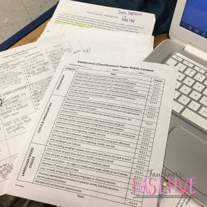 The burden of grading essays. It can be a true struggle for English teachers. Get educator Julie Faulkner's tips and tricks for managing the load.