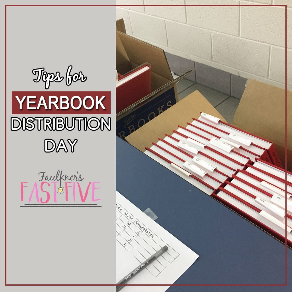 Yearbook Distribution Day Tips and Best Practices
