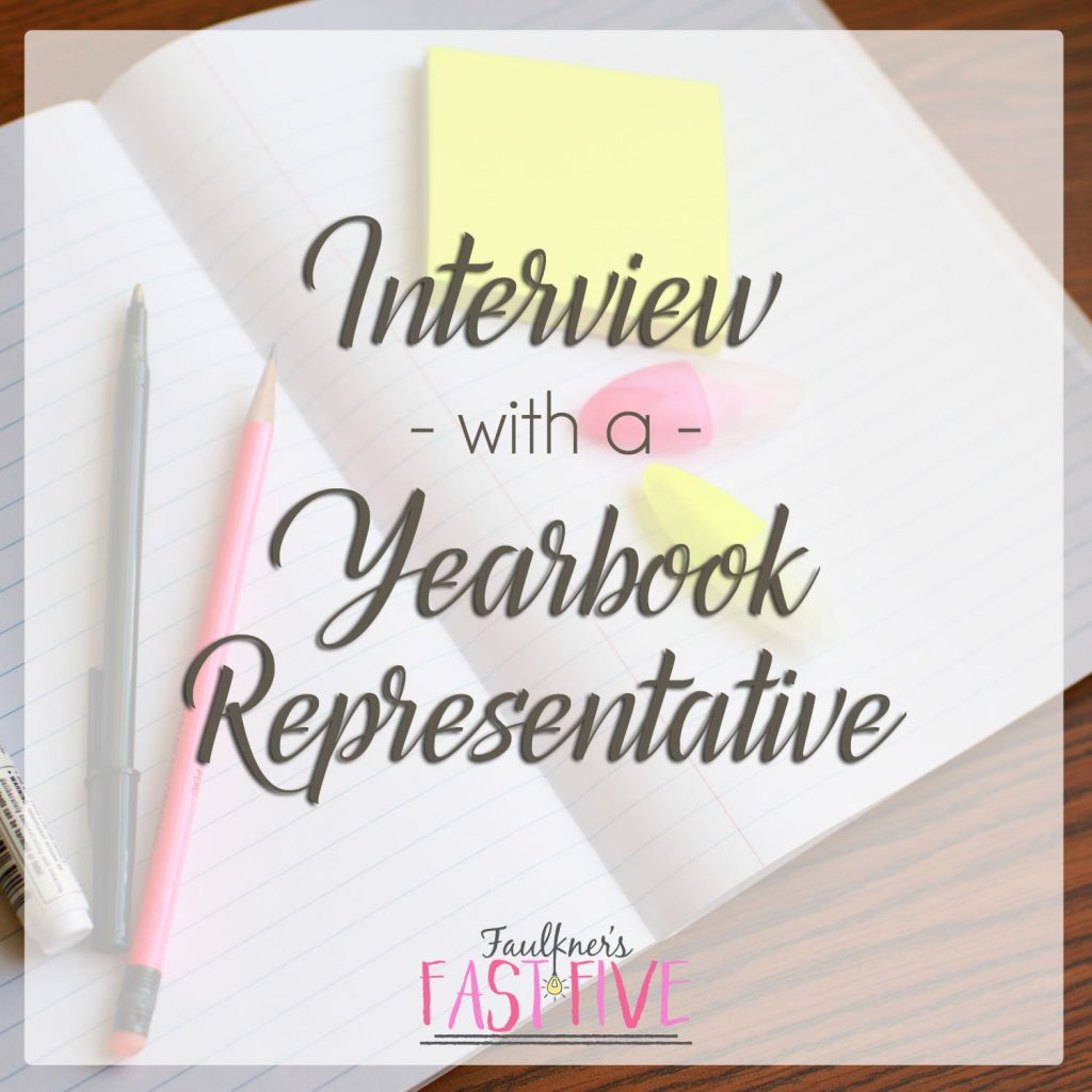 Interview with a Yearbook Representative