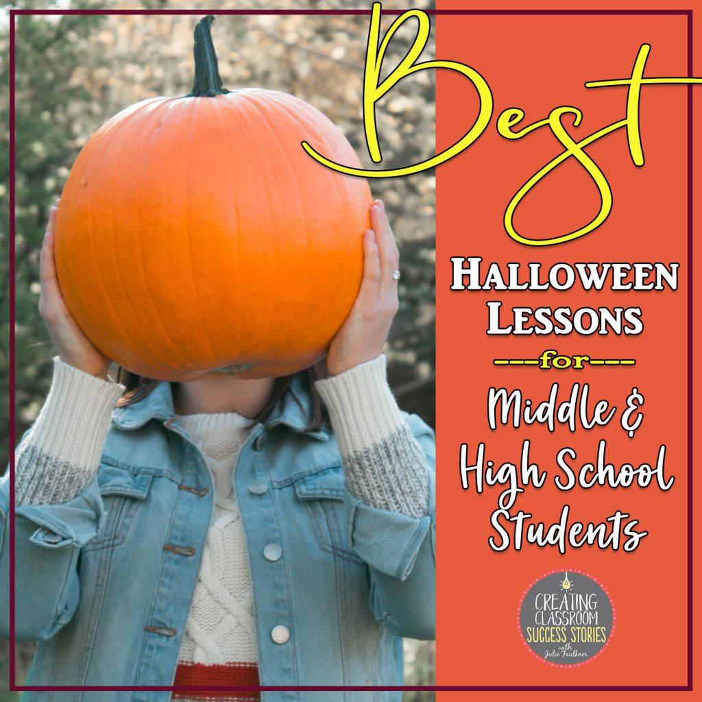 Top Halloween Lessons for Middle or High School Students