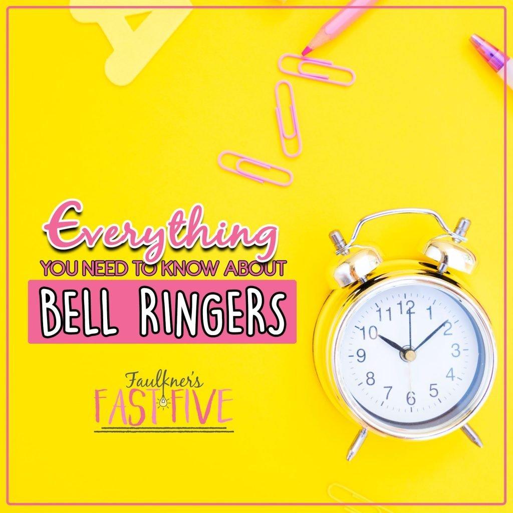 Bell Ringers, Faulkner's Fast Five, Julie Faulkner