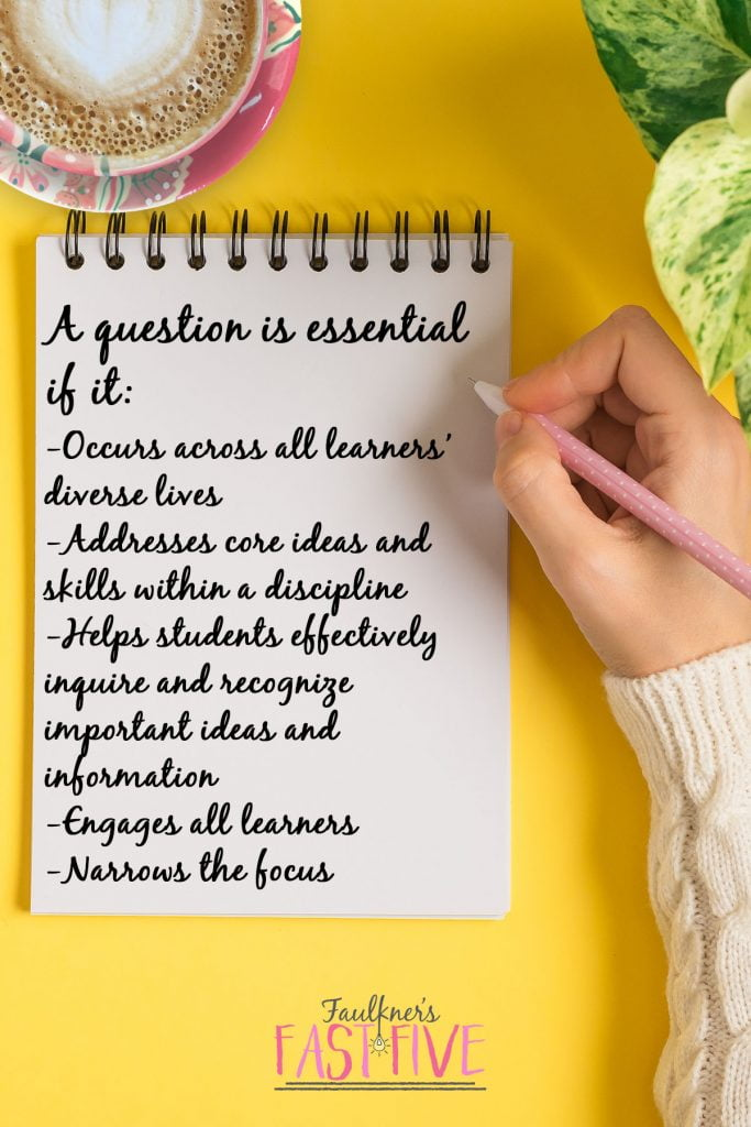 Everything You Need to Know About Essential Questions in Lesson Planning